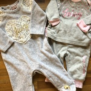 0-3 months Juicy Couture Outfits